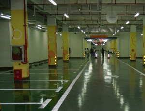 Epoxy industrigulv